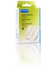 Alvita aposito adhesivo transparente 20 apositos
