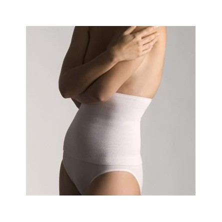 Faja farmalastic algodon tubular blanca t- 4 (cintura 115-130 cm) cinfa