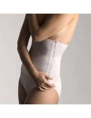 Faja farmalastic algodon velcro blanca t- 2 (cintura 95-115 cm) cinfa