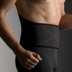 Faja lumbar farmalastic reforzada negra t- 2 (cintura 90-120 cm) cinfa