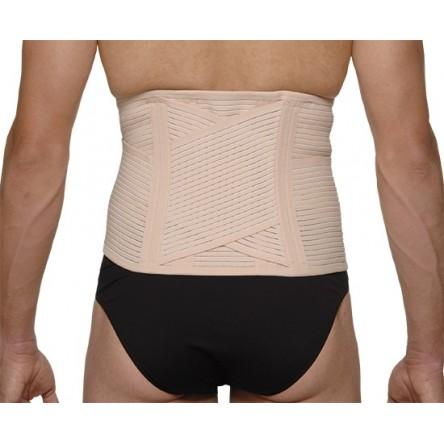 Faja lumbar medilast beige velcro reforzada contorno de cintura 95-105 cm t-4