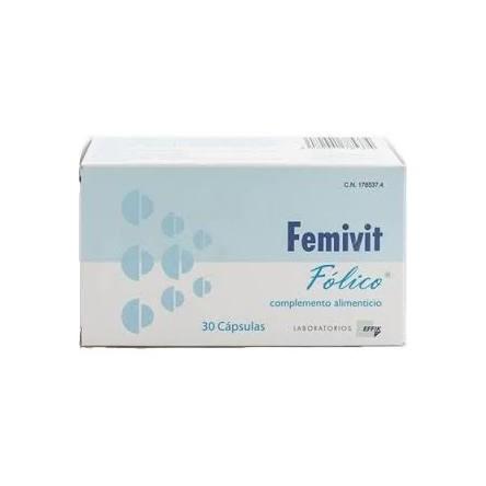 Femivit folico 30 capsulas