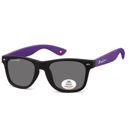 Gafas de sol polarizadas montana mp40 h black/malva