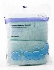 Alvita esponjas jabonosas monouso 24 esponjas