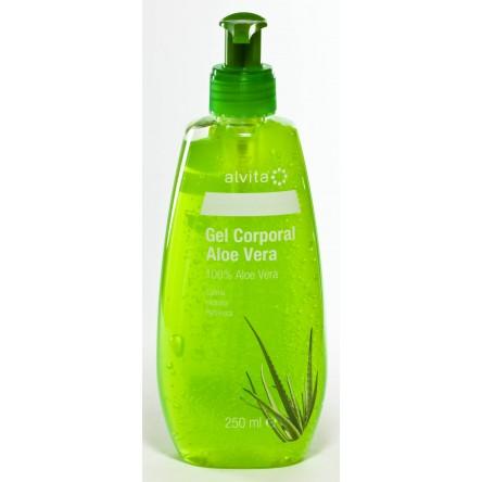 Alvita gel corporal aloe vera 250 ml