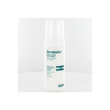 Germisdin higiene facial espuma piles grasas 125 ml.