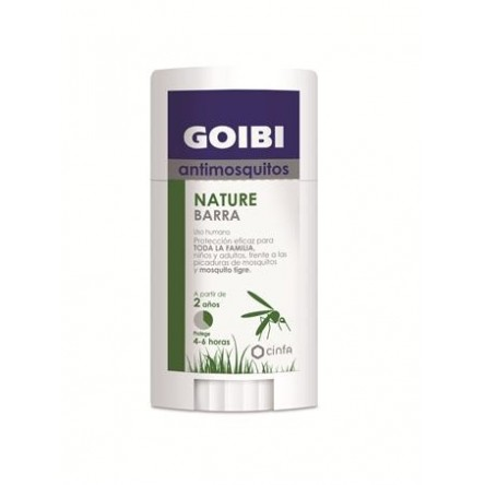 Goibi antimosquitos natural barra uso humano repelente 50 ml