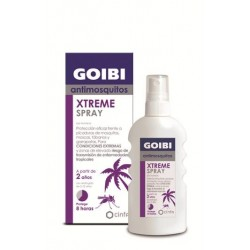 Goibi xtreme antimosquitos tropical spray locion repelente 75 ml cinfa