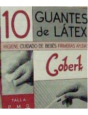 Guantes latex talla grande 10 unidades