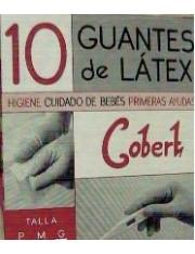 Guantes latex talla pequeña 10 unidades