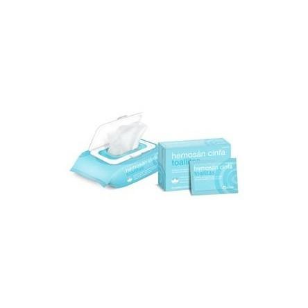 Hemosan cinfa toallitas 12 toallitas