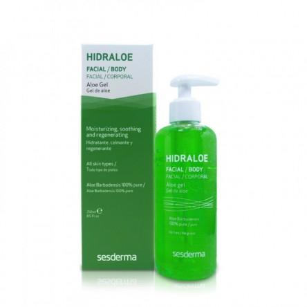 Hidraloe sesderma gel de aloe 250 ml