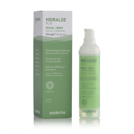 Hidraloe sesderma plus gel de aloe 50 ml