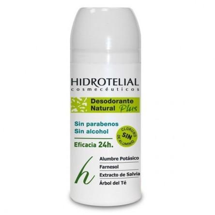Hidrotelial desodorante roll-on natural 75 ml