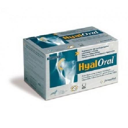 Hyaloral colageno y acido hialuronico perros grandes +20 kg 120 comprimidos