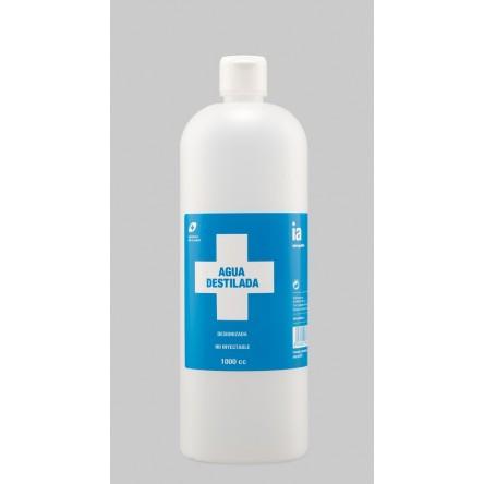 Interapothek agua destilada interapothek 1 litro.