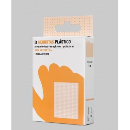 Interapothek aposito adhesivo tira 100 x 6 cm