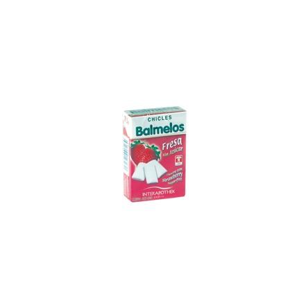 Interapothek balmelos chicles fresa sin azucar 29,5 g