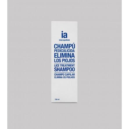 Interapothek champu antipiojos uso humano 150 ml
