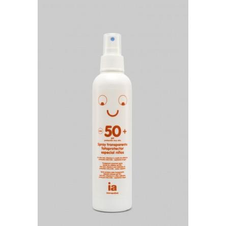Interapothek fotoprotec spf 50+ spray infantil transparente muy alta 200 ml