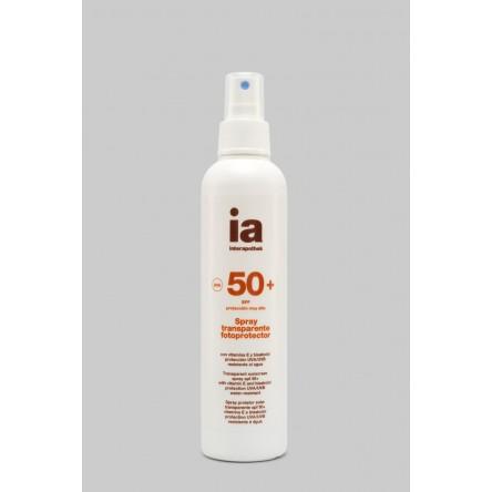 Interapothek fotoprotec spf 50+ spray transparente 200 ml