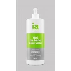 Interapothek gel de baño aloe vera 750 ml con dosificador
