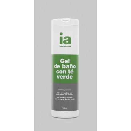 Interapothek gel de baño con extracto te verde 750 ml
