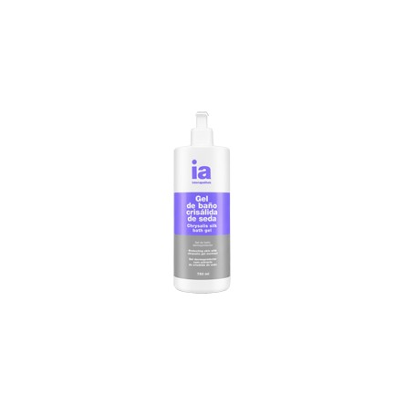 Interapothek gel de baño crisalida de seda con dosificador 750 ml