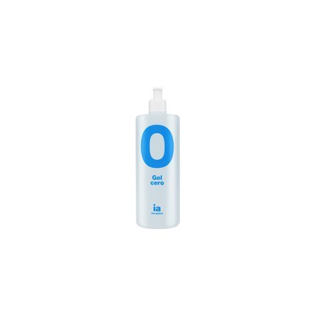 Interapothek gel de baño natural cero 750 ml con dosificador