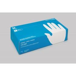 Interapothek guantes de latex con polvo talla- grande 100 guantes