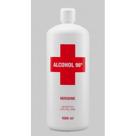 Interapothek heridine alcohol 96 º 1 litro