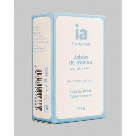 Interapothek jabon manos pastilla aloe 100g