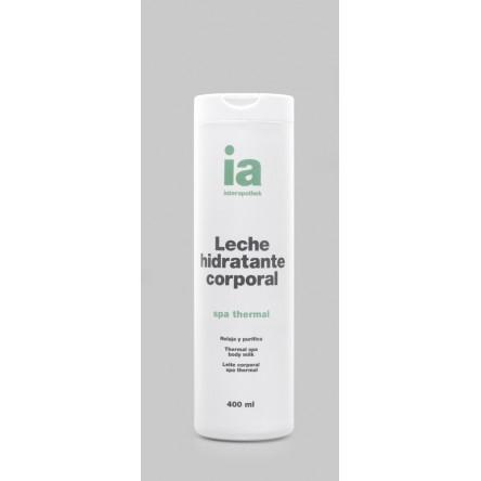 Interapothek leche corporal con extracto malaquita spa thermal 400 ml
