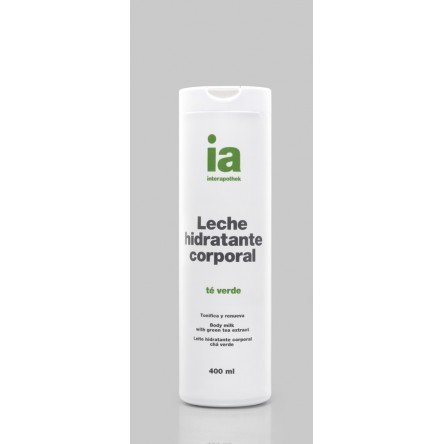 Interapothek leche corporal te verde 400 ml