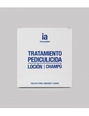 Interapothek pack antipiojos+liendrera