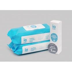 Interapothek pack crema balsamo + 2 toallitas 72 unidades