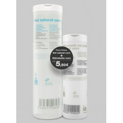 Interapothek pack gel cero+hidratante cero