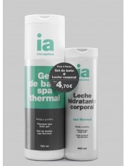 Interapothek pack gel spa+leche spa