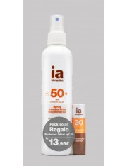 Interapothek pack spray+labial f30 regalo