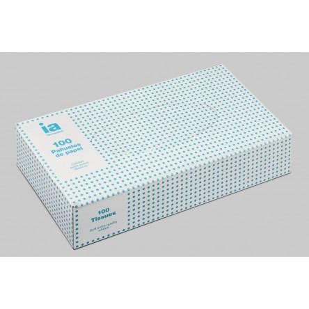 Interapothek pañuelos caja 100 unidades.