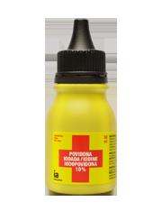 Interapothek povidona yodada 10% 50 ml