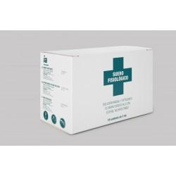 Interapothek suero fisiologico monodosis 5 ml 18 unidades
