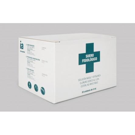 Interapothek suero fisiologico monodosis 5 ml 30 unidades