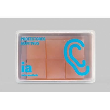 Interapothek tapones oidos silicona moldeable 6 unidades