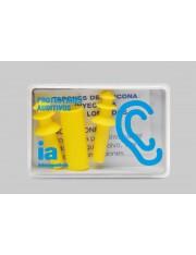 Interapothek tapones oidos silicona inyectada niños 2 unidades