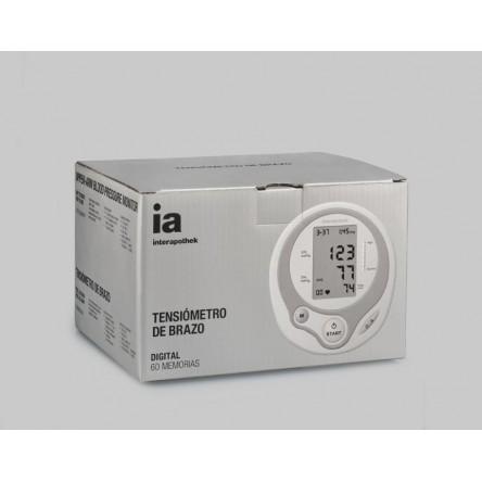 Interapothek tensiometro digital brazo 60 memorias