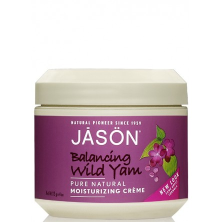 Jason crema facial de ñame salvaje 113 g