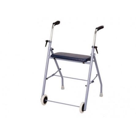 Andador ruedas con asiento ad-250 adas