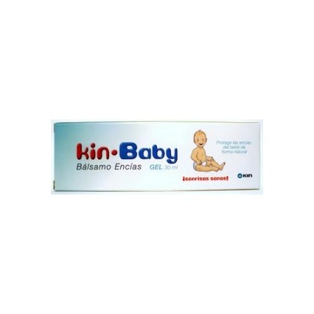 Kin baby balsamo encias gel 30ml.