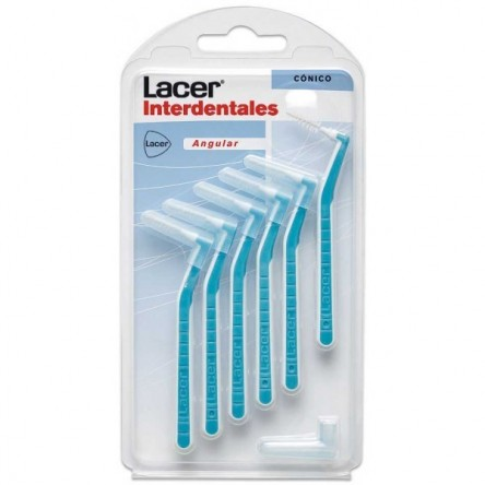 Lacer cepillo interdental conico angular 6 unidades